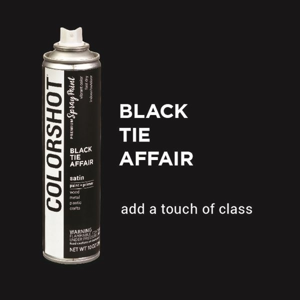 Black Tie Affair COLORSHOT Spray Paint