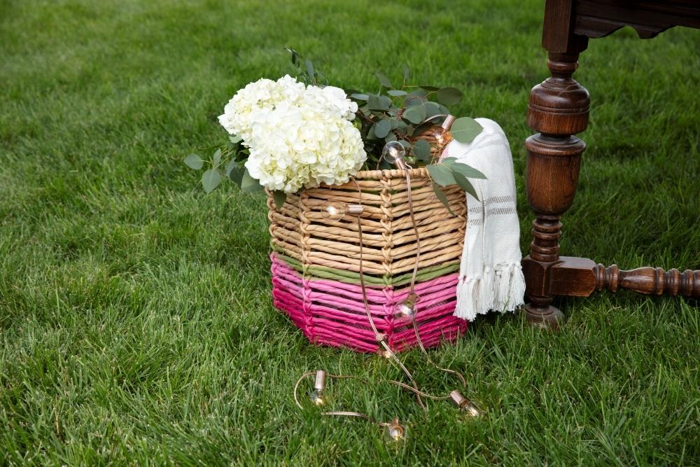 COLORSHOT DIY Painted Wicker Basket