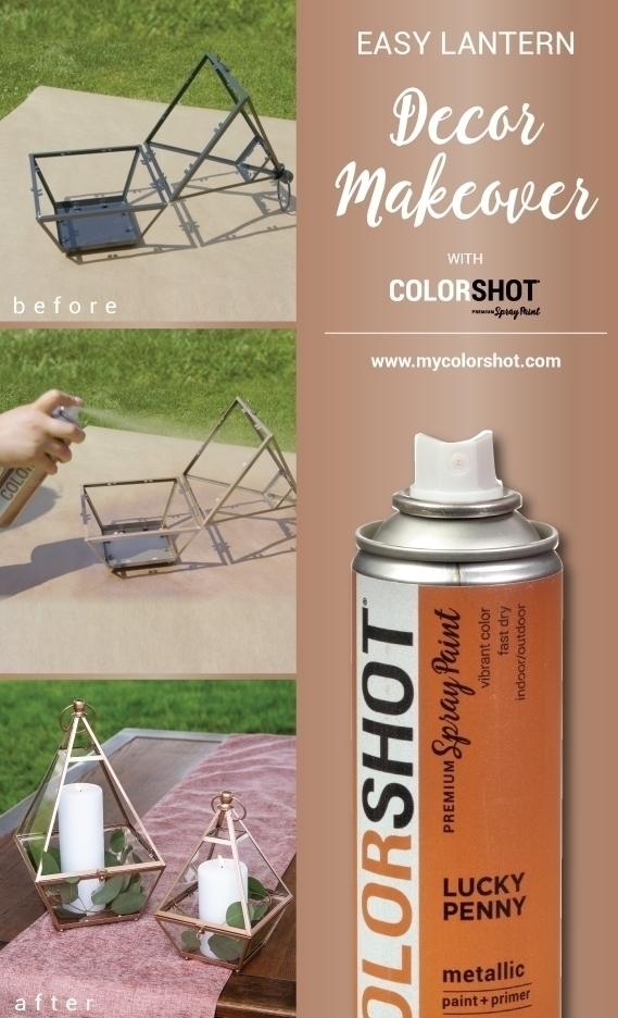 COLORSHOT Lantern Makeover