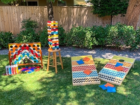 Picture of DIY Outdoor Party Games color
