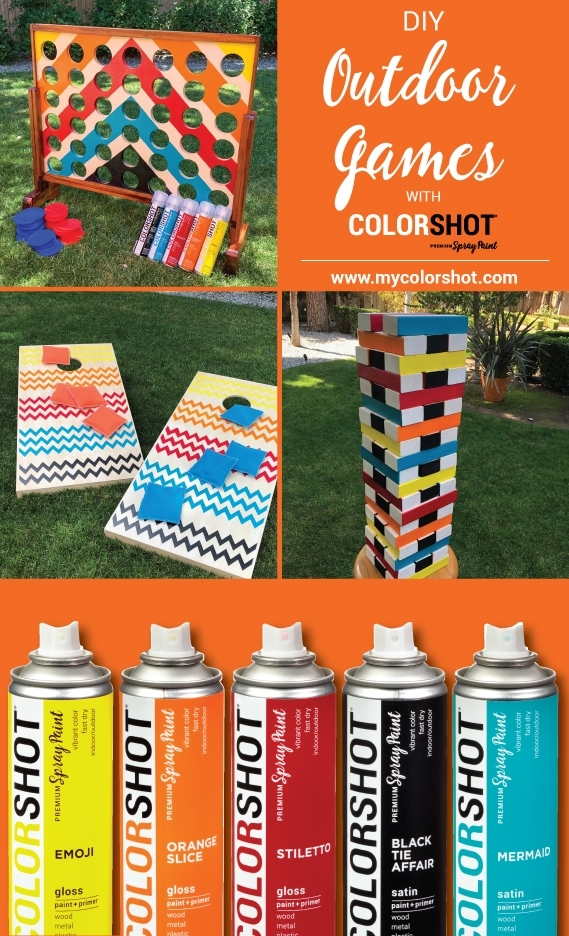 DIY Outdoor Party Games