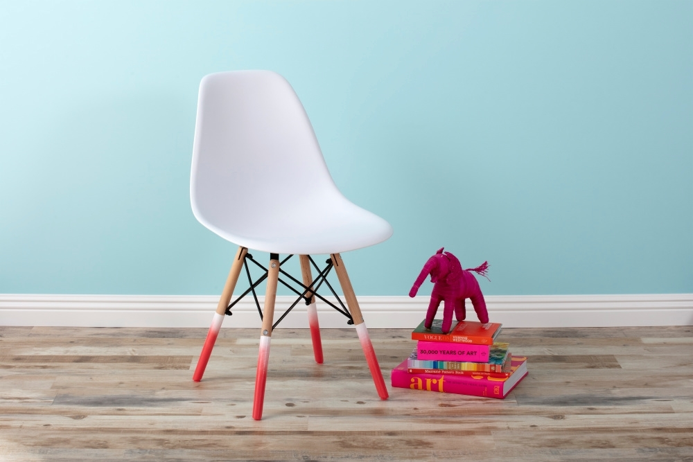COLORSHOT Chair Makeover with Spray Paint