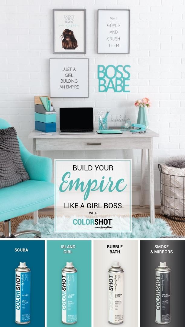 COLORSHOT office color palette