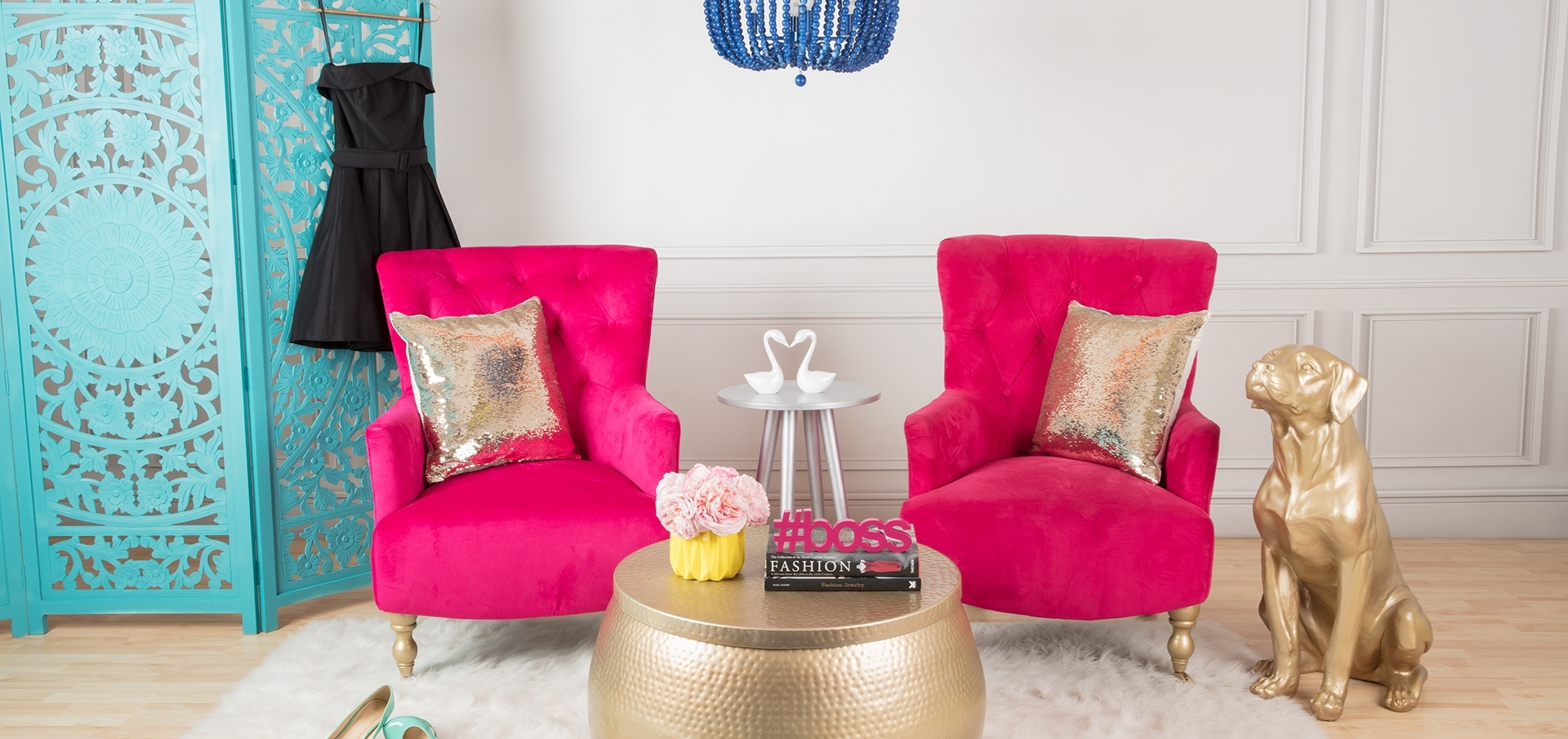 COLORSHOT Coffee Table Makeover