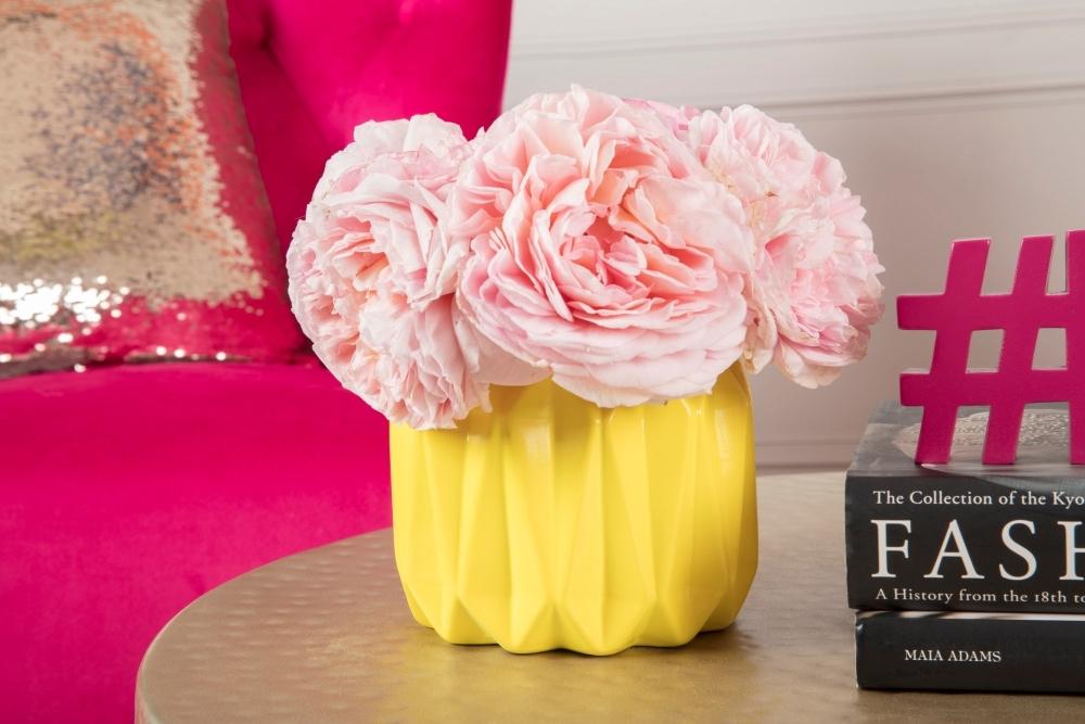 COLORSHOT Spray Painted Vase