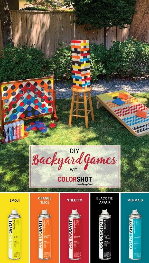 COLORSHOT Backyard Party Game Palette