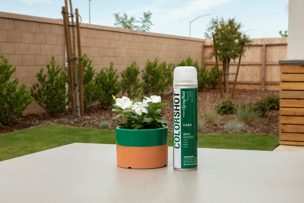 How To Spray Paint Terracotta with COLORSHOT