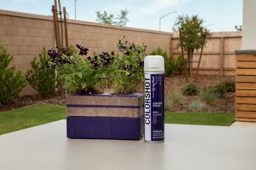 How To Spray Paint Brick with COLORSHOT