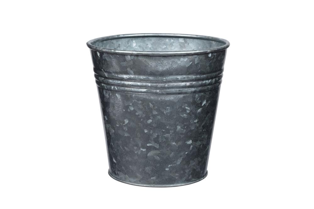 Metal bucket before