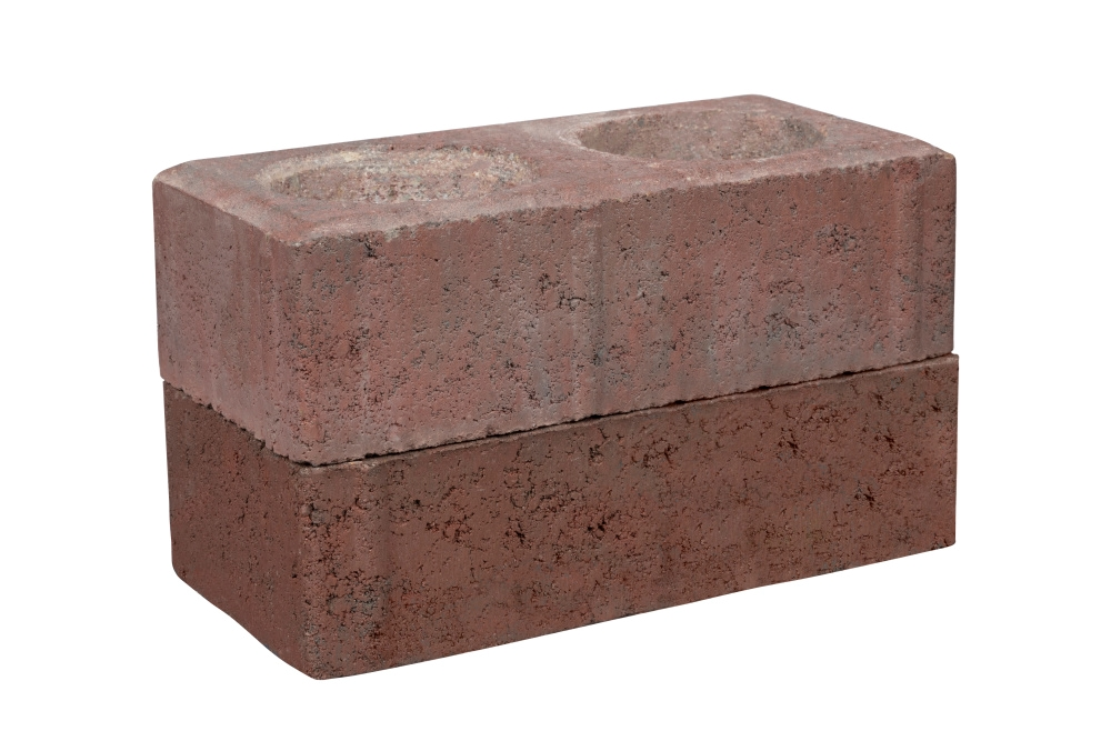 Brick before spray paint
