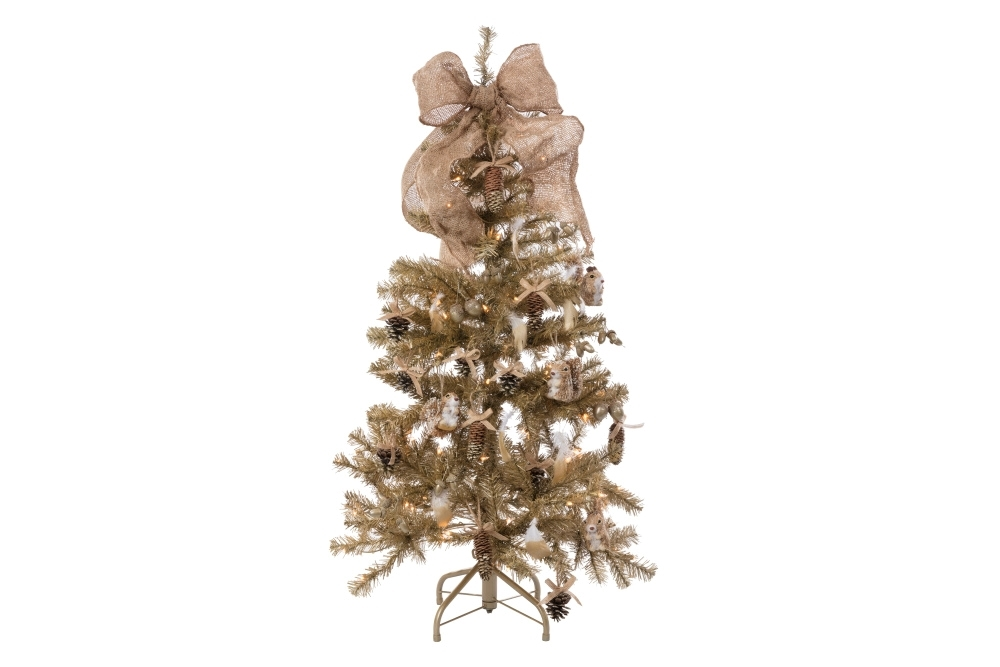 COLORSHOT Gilded Woodland Christmas Tree