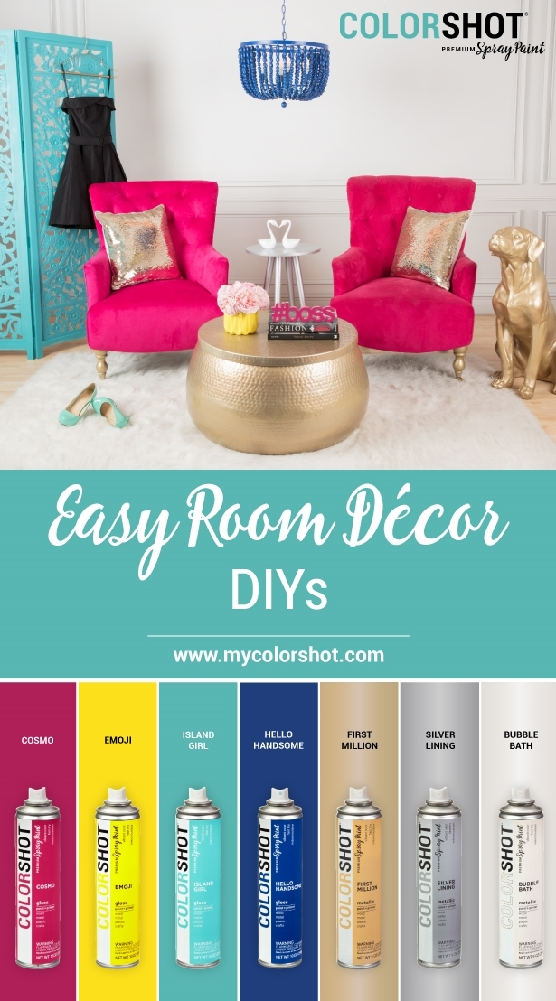 COLORSHOT Room Decor Color Palette