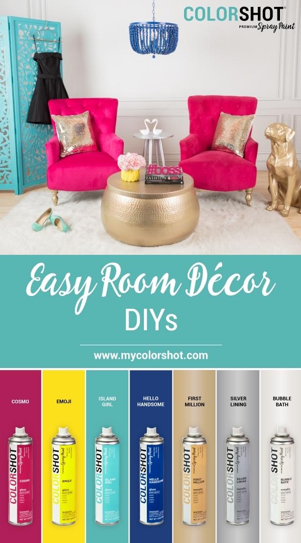 COLORSHOT Room Decor Color Palette