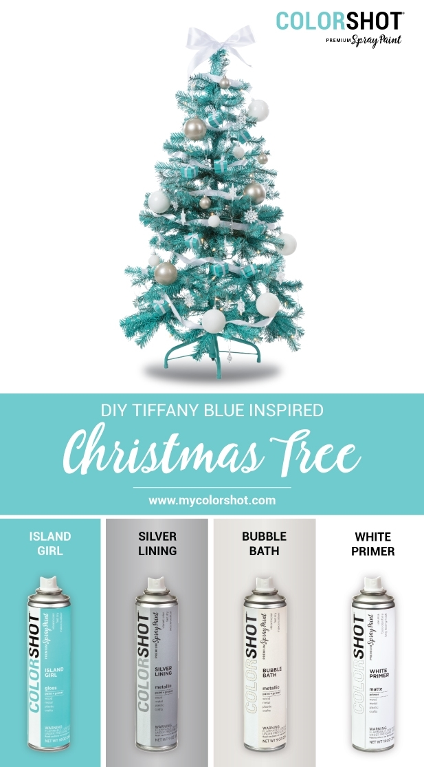 COLORSHOT Tiffany Inspired Christmas Tree