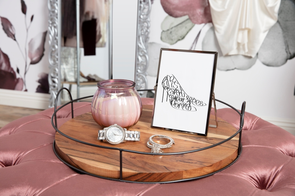 COLORSHOT Dressing Room Decorative Tray
