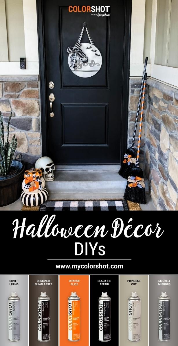 COLORSHOT Halloween Decor DIYs