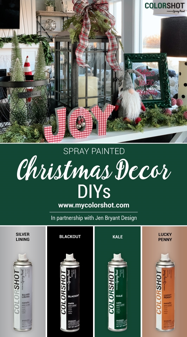 COLORSHOT Christmas Decor DIYs