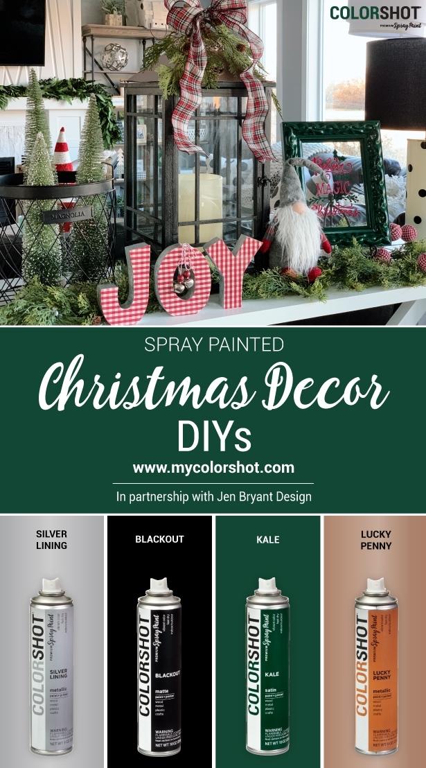 COLORSHOT Christmas Decor DIYs
