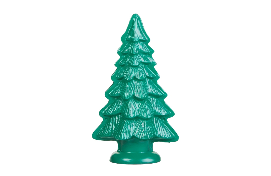 COLORSHOT Painted Ceramic Christmas Tree