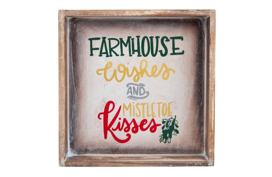 COLORSHOT DIY Christmas Quote Sign