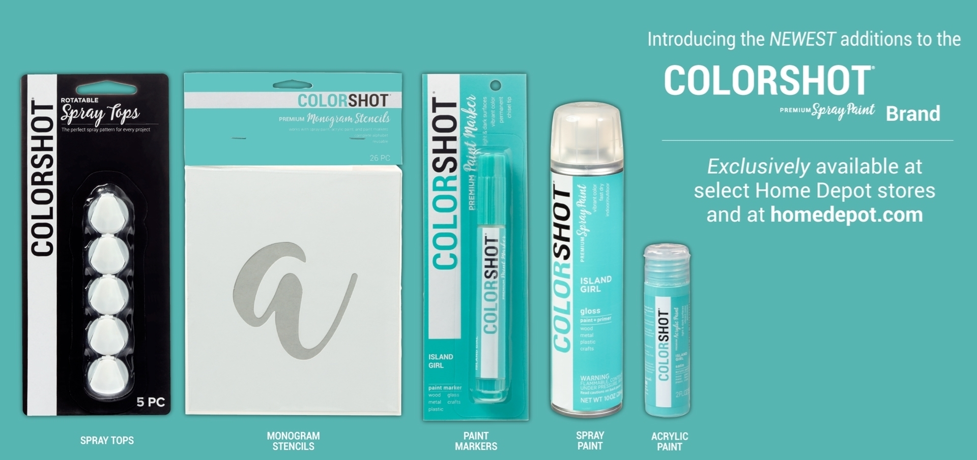 COLORSHOT Line Extension Products