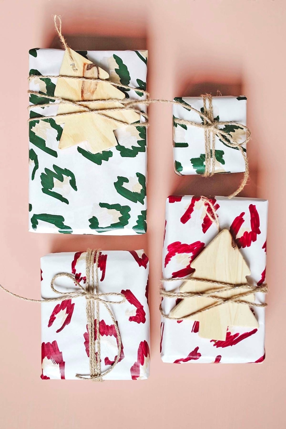 COLORSHOT Custom Leopard Print Wrapping Paper