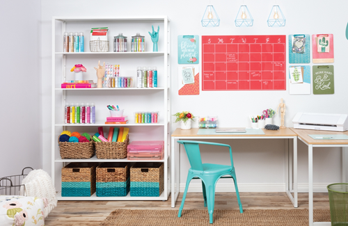 COLORSHOT Ideas for Decluttering Your Craft Room