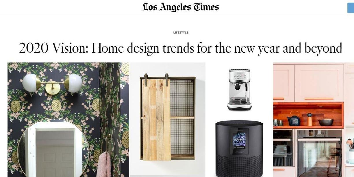 LA Times Colorshot Feature