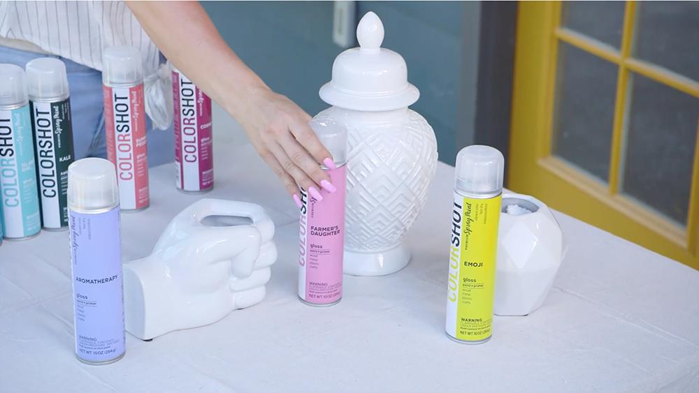 COLORSHOT Spray Paint - choose color palette