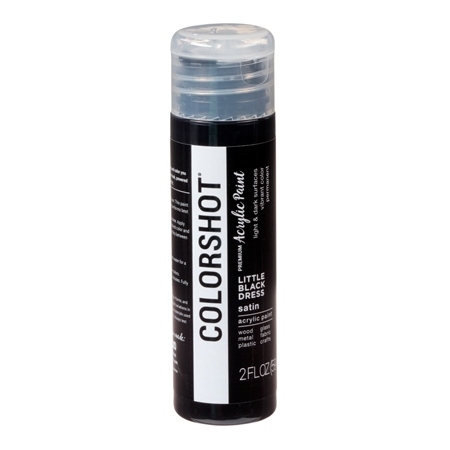 Picture of Premium Acrylic Paint Little Black Dress Satin color