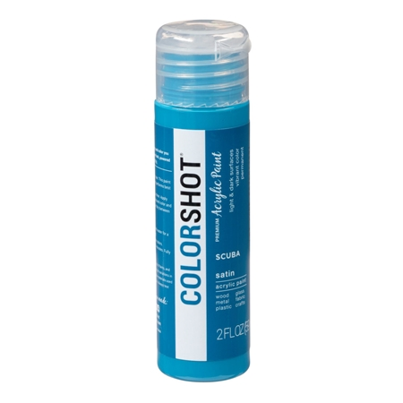 Picture of Premium Acrylic Paint Scuba Satin color