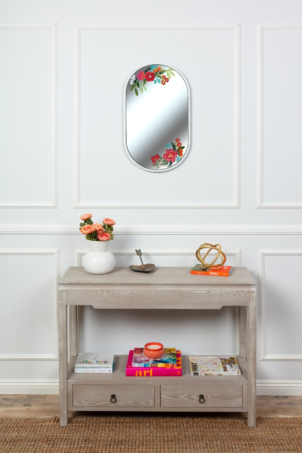 COLORSHOT Floral Mirror DIY