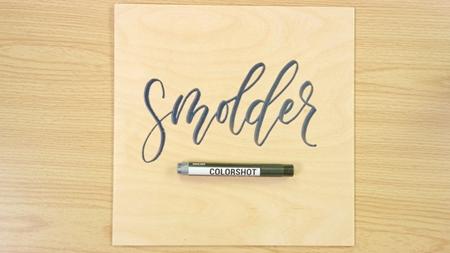 Smolder COLORSHOT Paint Marker Calligraphy