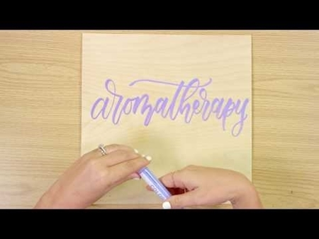 Aromatherapy COLORSHOT Paint Marker Calligraphy