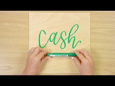 Cash COLORSHOT Paint Marker Calligraphy