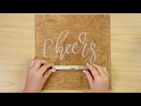 Cheers COLORSHOT Paint Marker Calligraphy