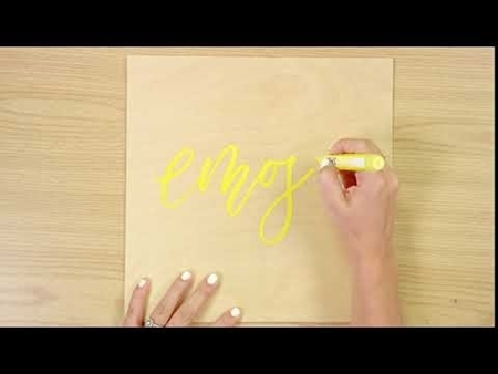 Emoji COLORSHOT Paint Marker Calligraphy