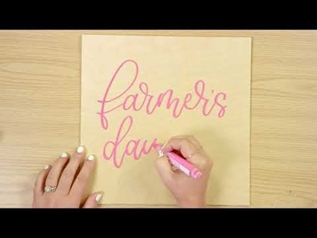 Farmer's Daughter COLORSHOT Paint Marker Calligraphy