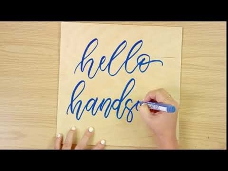 Hello Handsome COLORSHOT Paint Marker Calligraphy