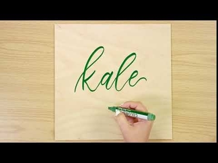 Kale COLORSHOT Paint Marker Calligraphy