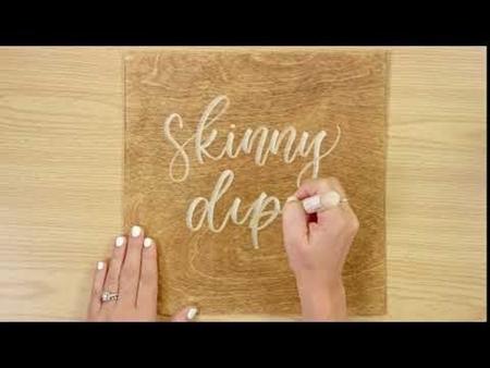 Skinny Dip COLORSHOT Paint Marker Calligraphy