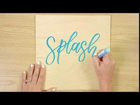 Splash COLORSHOT Paint Marker Calligraphy
