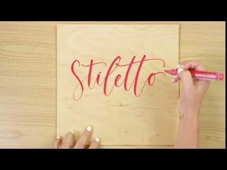Stiletto COLORSHOT Paint Marker Calligraphy