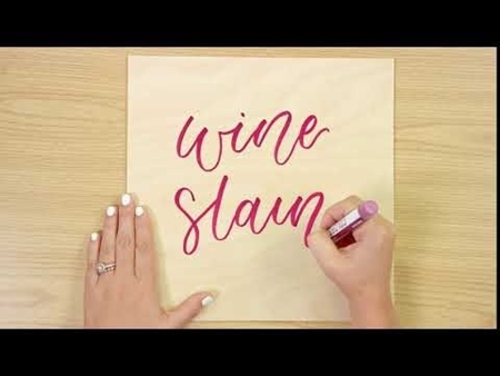Wine Stain COLORSHOT Paint Marker Calligraphy