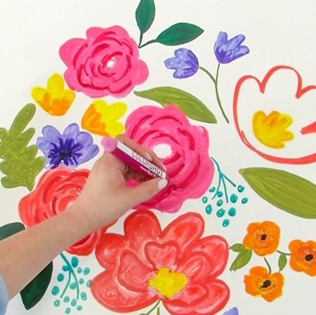 Picture of Premium Paint Marker Summer Pedicure color