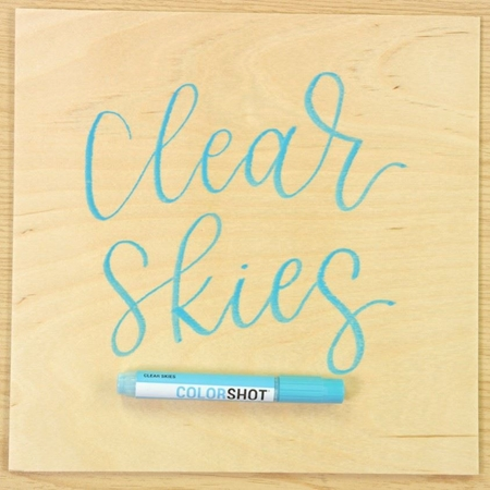 Picture of Premium Paint Marker Clear Skies color