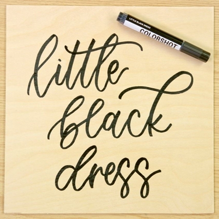 Picture of Premium Paint Marker Little Black Dress color