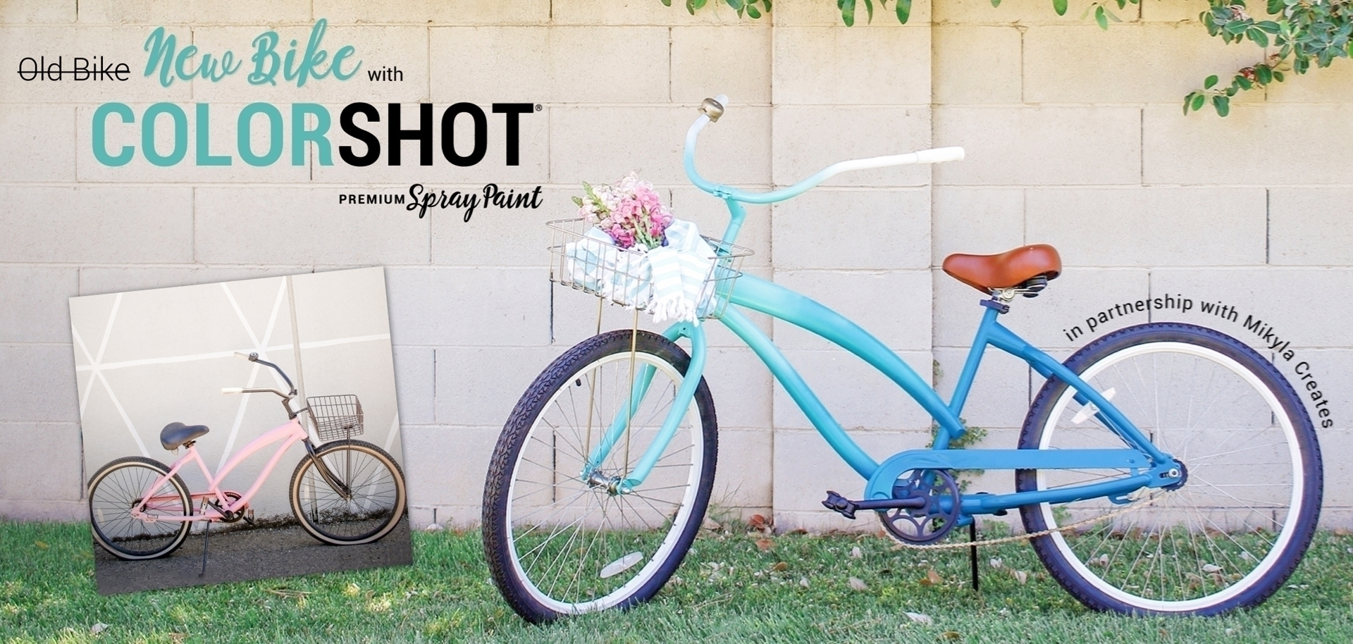 How To Paint a Bike with COLORSHOT Spray Paint