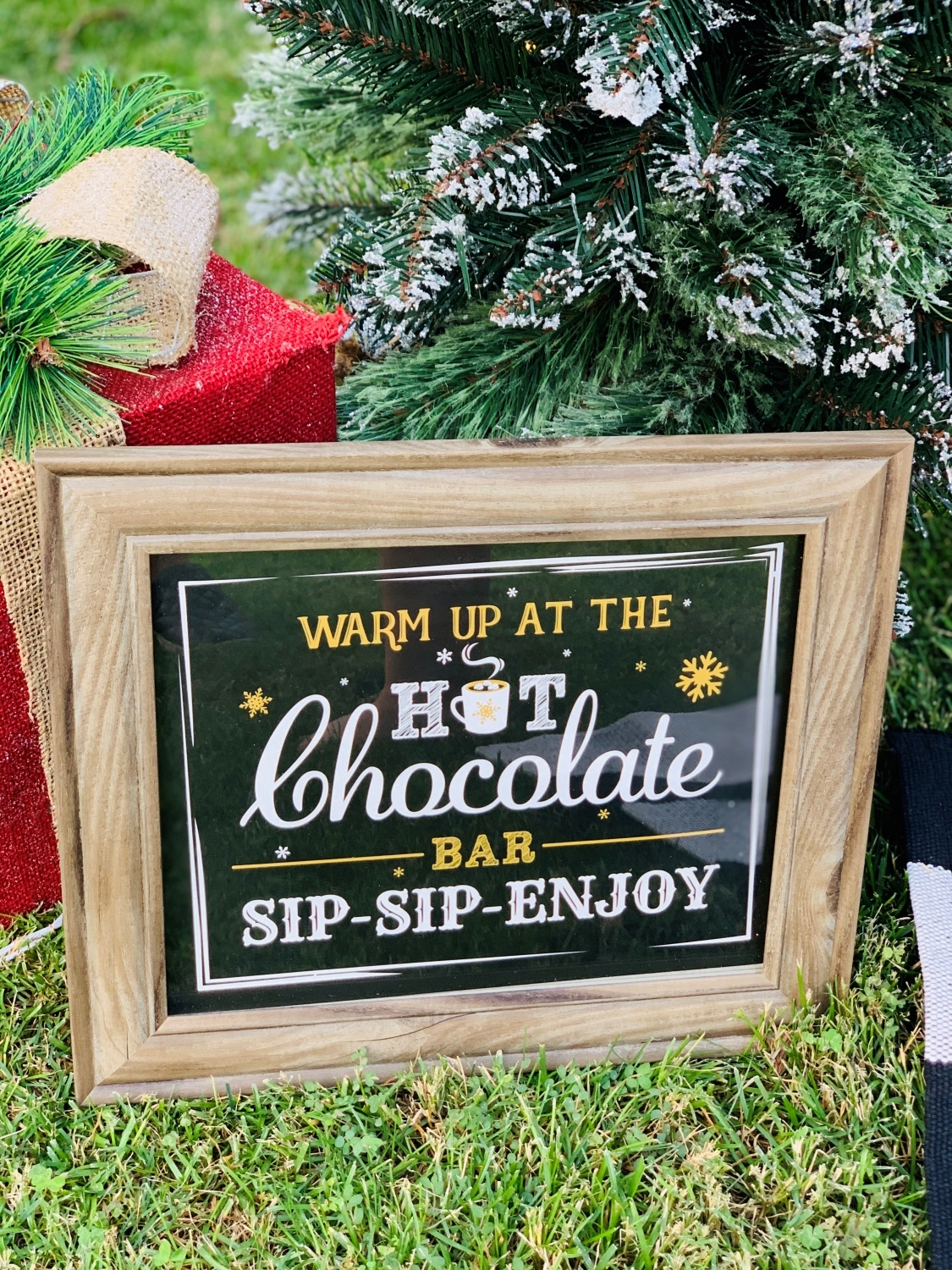 Make a custom sign with COLORSHOT