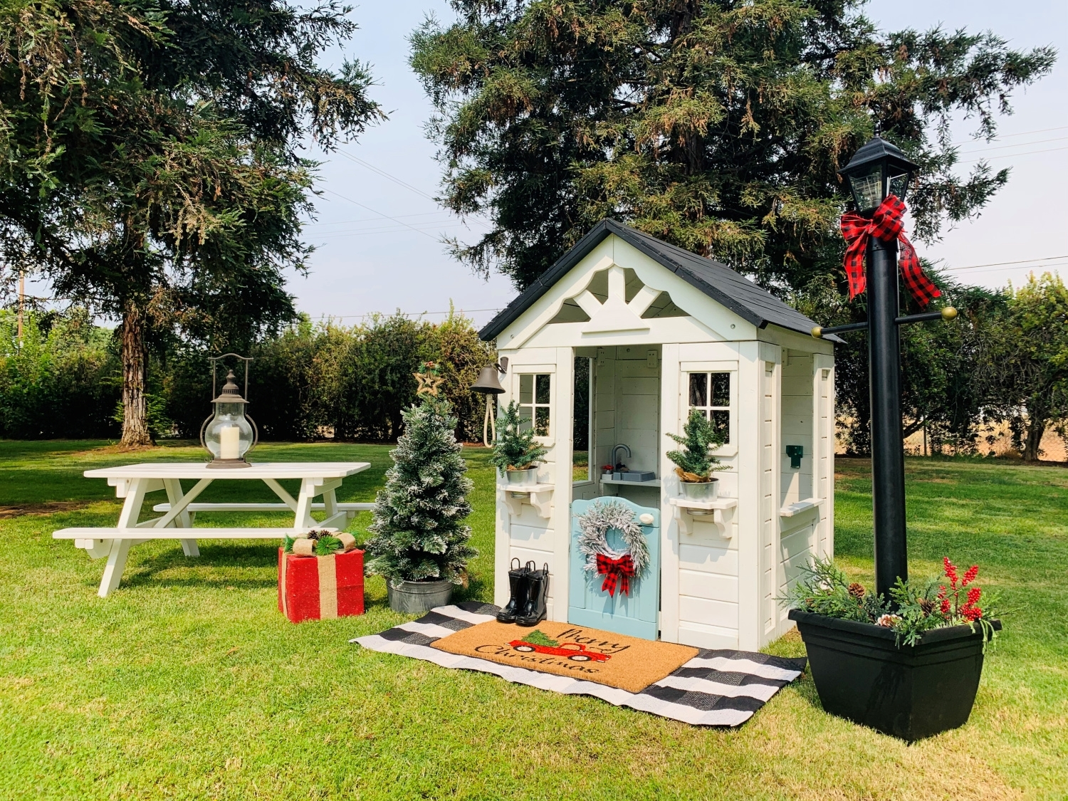 Custom Playhouse with COLORSHOT